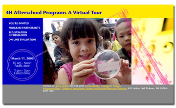 4H AFTER SCHOOL PROGRAMS - A VIRTUAL TOUR